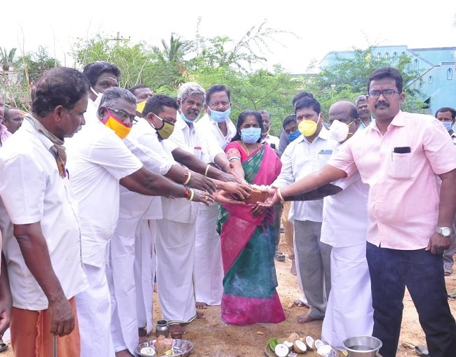 At Sivaganga 22.05.2020 36th ward of Karaikudi Town