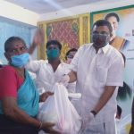 On behalf of Ramanathapuram Town congress committee, Mr. Karti Chidambaram distributed essential items to the general public of Ramanathapuram Town on 13.5.2020.