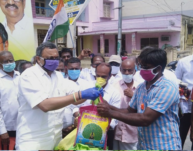 Meetings and Events 29.05.2020 sanitation workers of the Tenkasi Municipality