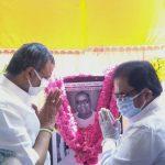 Mr. Karti Chidambaram, on 1.6.2020, attended the birth centenary celebration of Former TNCC President & Former Minister of Tamil Nadu, Late Shri Kattupatti V Ramaiah.