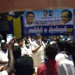 Sivaganga MP, Mr Karti Chidambaram, on 27.07.2020, Monday, donated HT LED light at the new bus stand in Manamadurai Panchayat for the public usage of that area.  The light has been donated from the MP Constituency Development Fund.