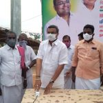 Sivaganga MP, Mr Karti Chidambaram, on 28.07.2020, Tuesday, donated HT LED light in Mitravayal Panchayat of Saakottai Panchayat Union of Sivagangai District for the public usage of that area.  The light has been donated from the MP Constituency Development Fund.