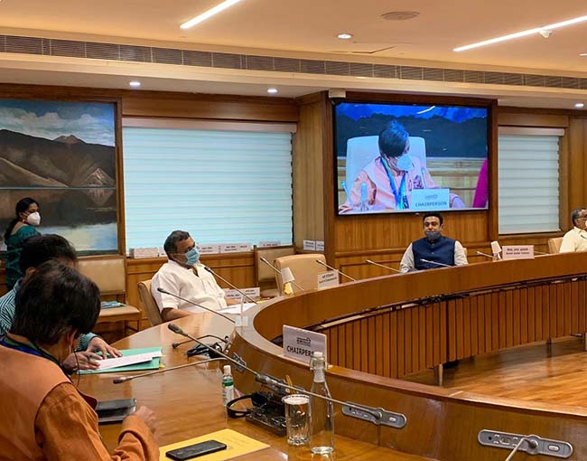 Meetings and Events on October 07, 2020, in Delhi