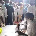 meeting with the public of Vijayapuram
