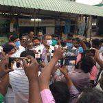 Mr. Karti P Chidambaram, MP, Sivaganga, while meeting with the of