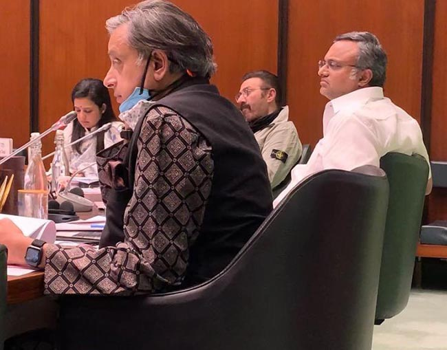 Parliamentary Standing Committee meeting ⁦10.2.21