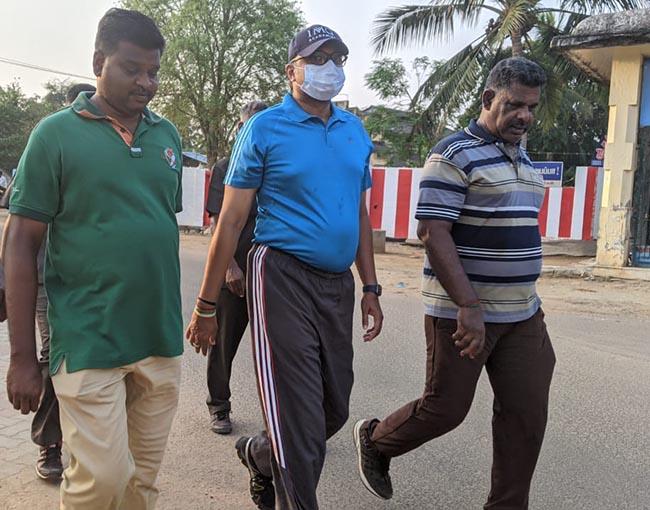 Mr Karti P Chidambaram, MP, Sivaganga, at Devakottai on 02.04.2021