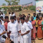 while campaigning for the Congress MLA Candidate from Thirumayam Assembly, Thiru S Raghupathi, in Soriyampatti region in Sivagangai on 01.04 (2)