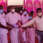 Mr Karti P Chidambaram, MP, Sivaganga, along with Karaikudi MLA, Mr Mangudi, visited the COVID Vaccination camp being organised at Peraiyur village in Thirumayam on 28.05.2021 and also distributed medical accessories to that centre.
