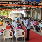Mr Karti P Chidambaram, MP, Sivaganga, on behalf of Sri Meentachi Sundareswarar Higher Secondary School, Keelaseevalpatti, donated ECG equipment and other necessary med - Copy